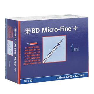 Insulinspritze Microfine plus BD