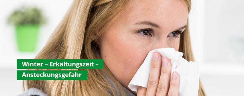 Händedesinfektion und Handreinigungstücher: